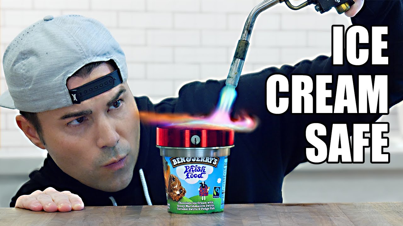 Unbreakable Ice Cream Safe- How to make cool stuff (I made a class!)