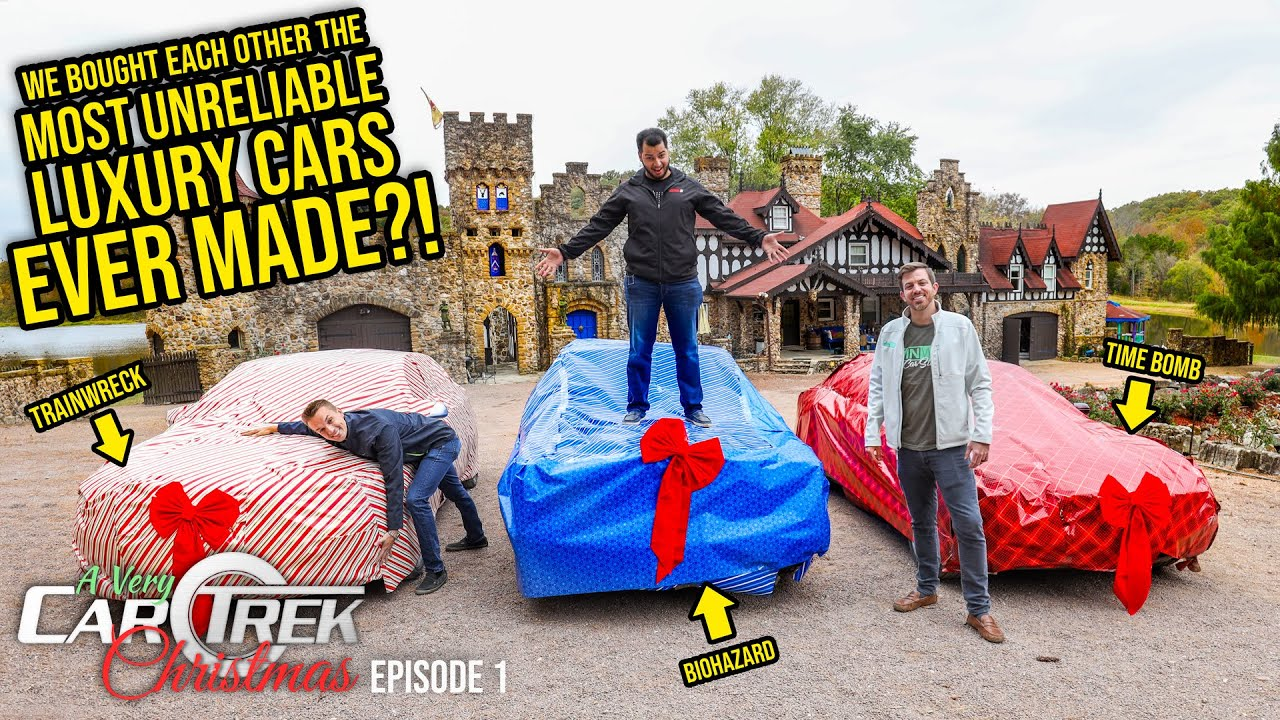 We Bought Each Other The Most UNRELIABLE Luxury Cars EVER MADE – Car Trek S3 Episode 1
