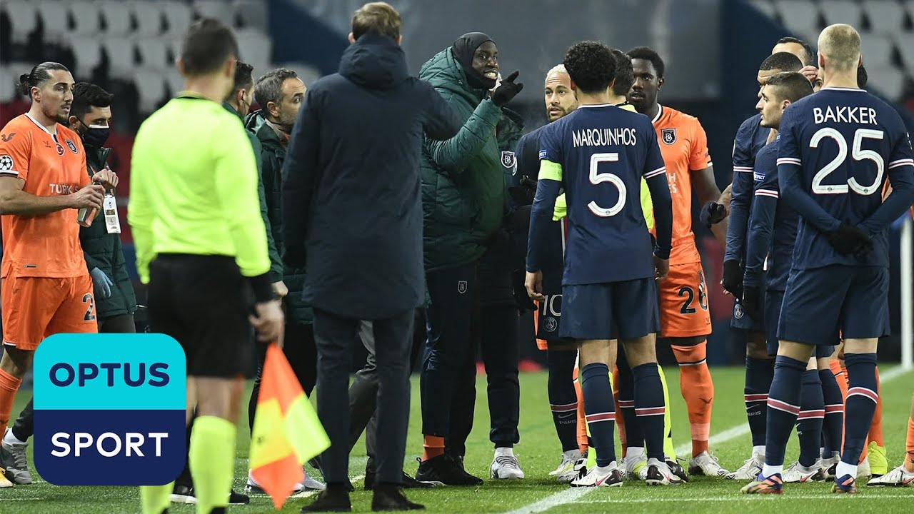 'We don't accept you' – Basaksehir and PSG's walk-off explained