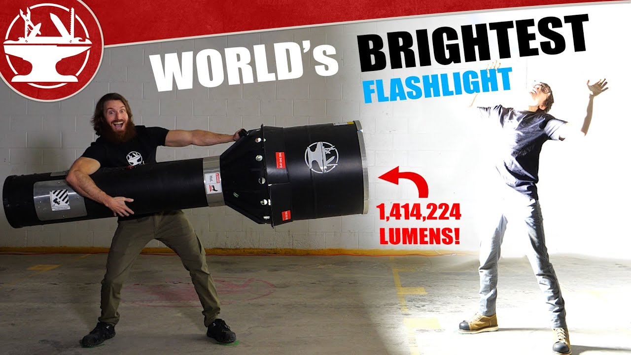 World's BRIGHTEST Flashlight?