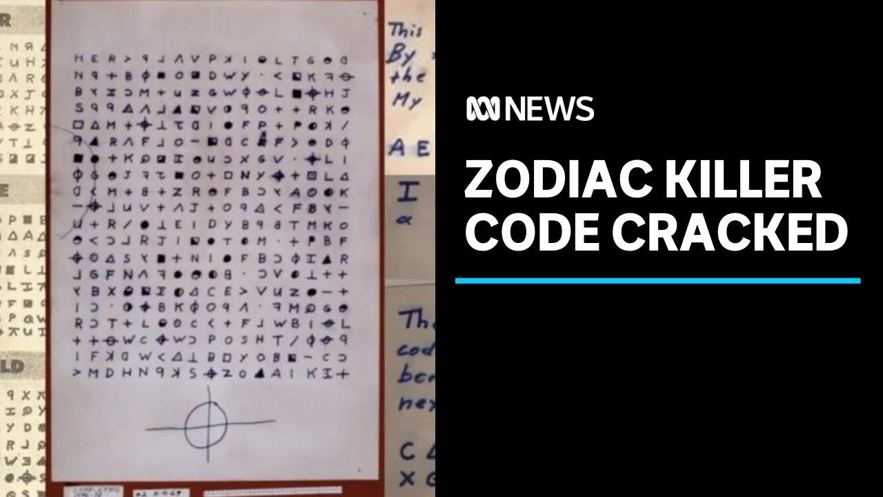 Zodiac killer code cracked by Australian mathematician 50 years after first murder | ABC News