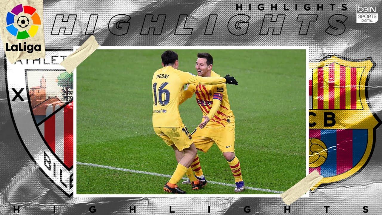 Athletic Club 2 – 3 Barcelona – HIGHLIGHTS & GOALS – 1/6/2021