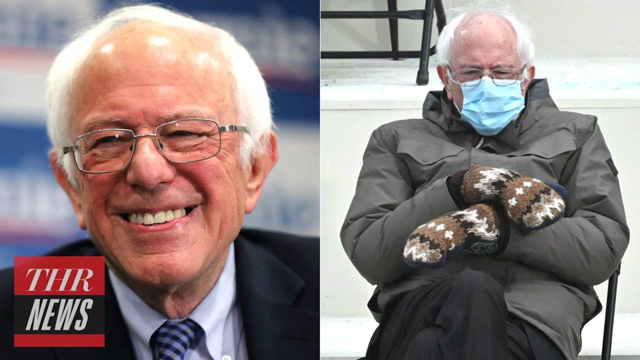 Bernie Sanders Had the Best Reaction to Becoming a Viral Meme   THR News