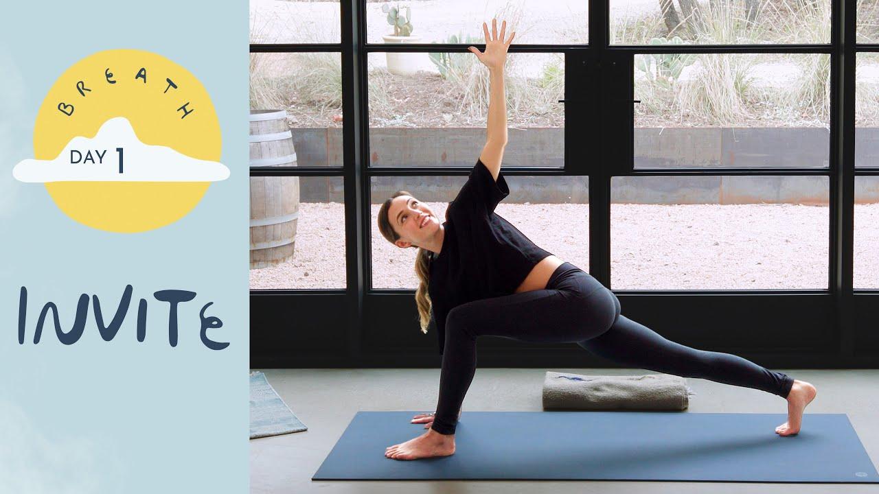 Day 1 – Invite     BREATH – A 30 Day Yoga Journey