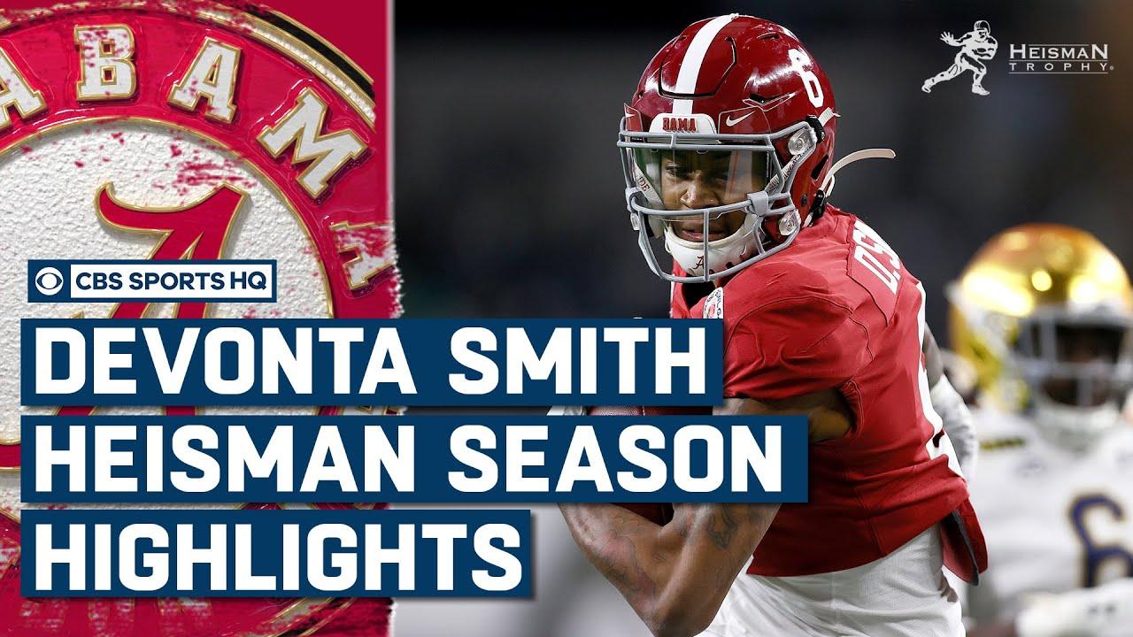 DeVonta Smith: Highlights from his Heisman Season | CBS Sports HQ