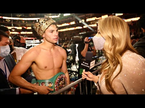 EXCLUSIVE! WOW! RYAN GARCIA IMMEDIATELY AFTER STOPPING LUKE CAMPBELL