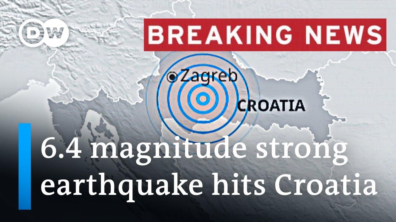 Earthquake hits Croatia with 6.4 magnitude | DW News