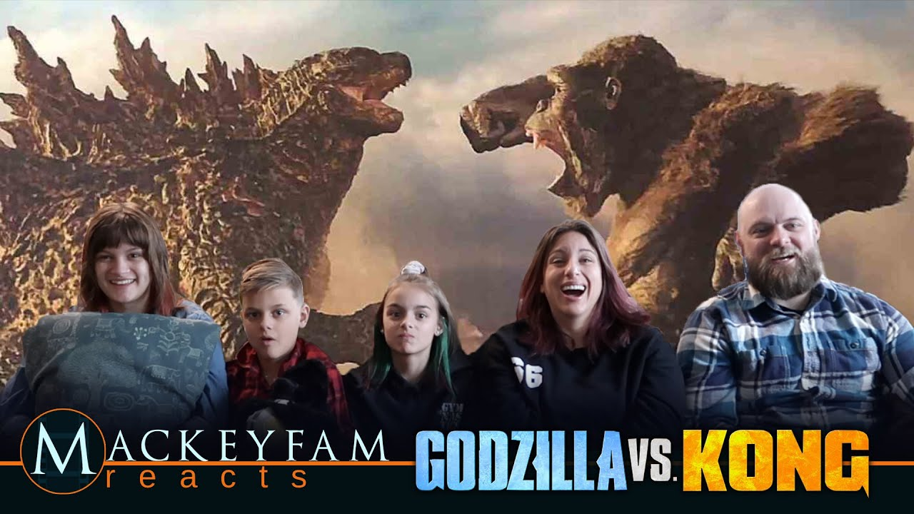 Godzilla vs. Kong – Official Trailer- REACTION and REVIEW!!!   MackeyFam