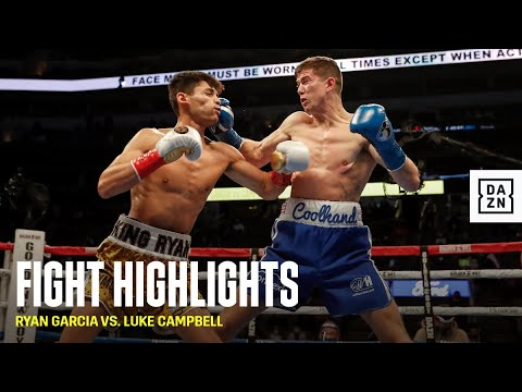HIGHLIGHTS   Ryan Garcia vs. Luke Campbell