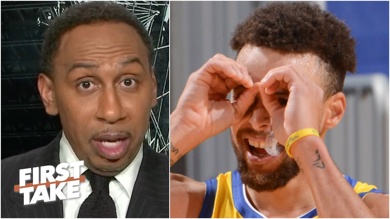 'I've never seen a shooter greater than Steph Curry' – Stephen A. reacts to Curry's 62-point game