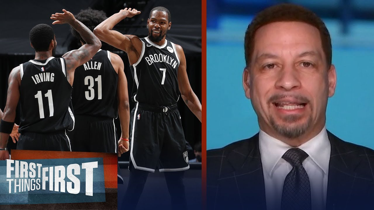 KD is rusty; Kyrie's playing like one of best in the world — Broussard | NBA | FIRST THINGS FIRST