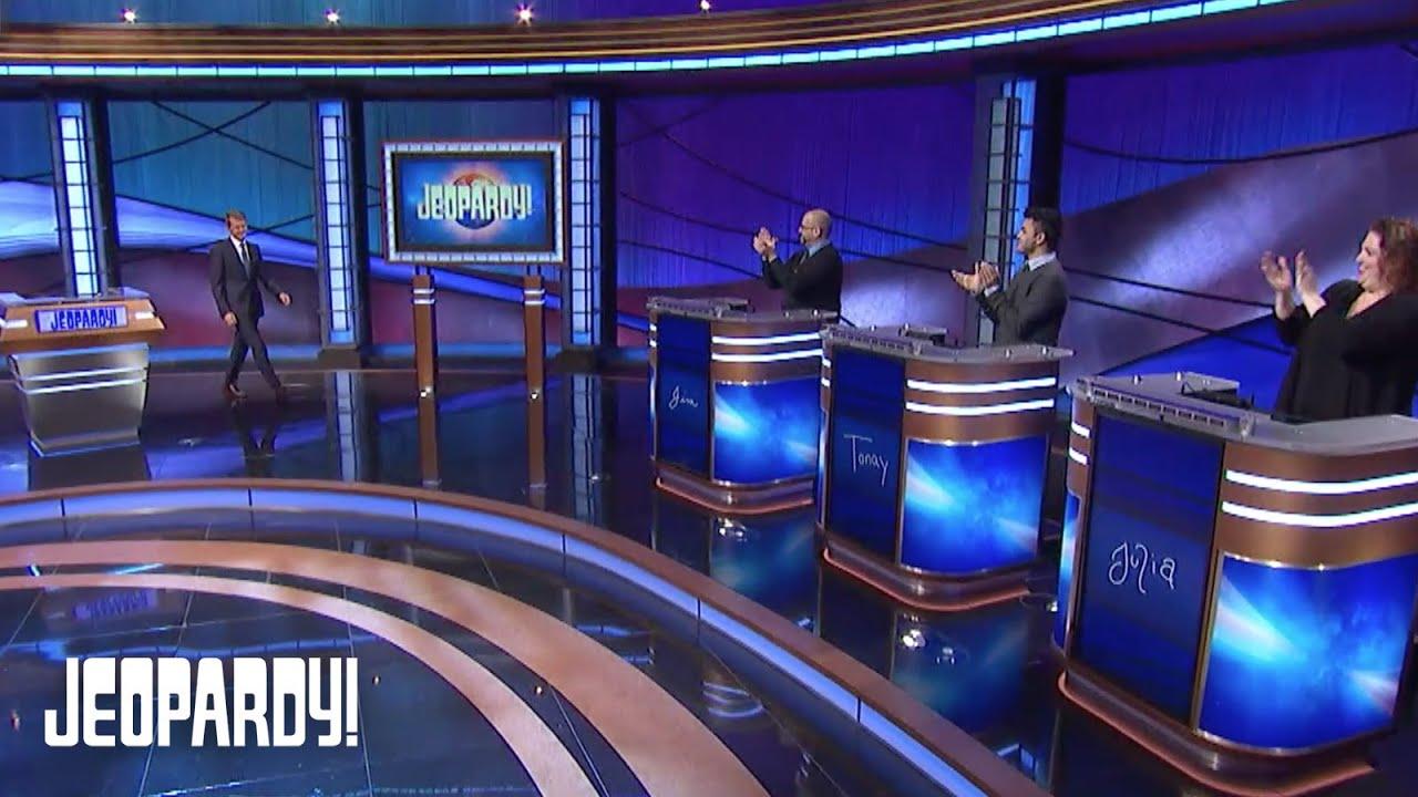 Ken Jennings Honors Alex Trebek In His First Episode as Guest Host | JEOPARDY!