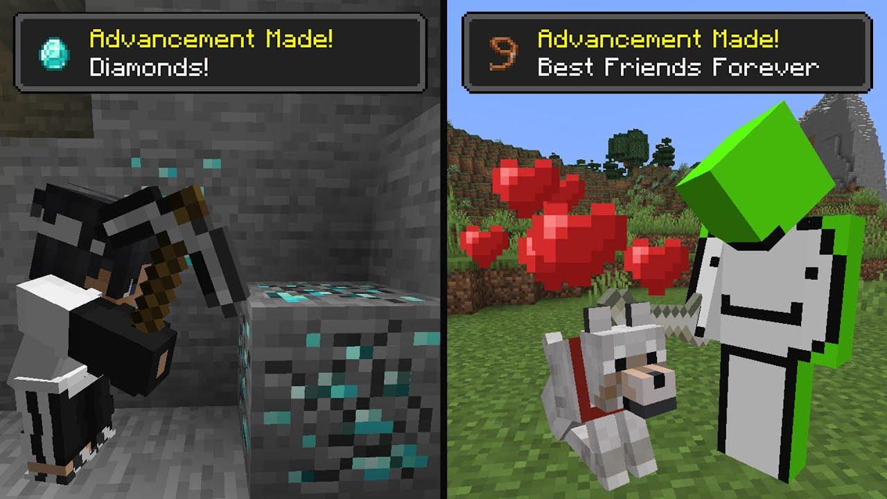 Minecraft Achievement Race…