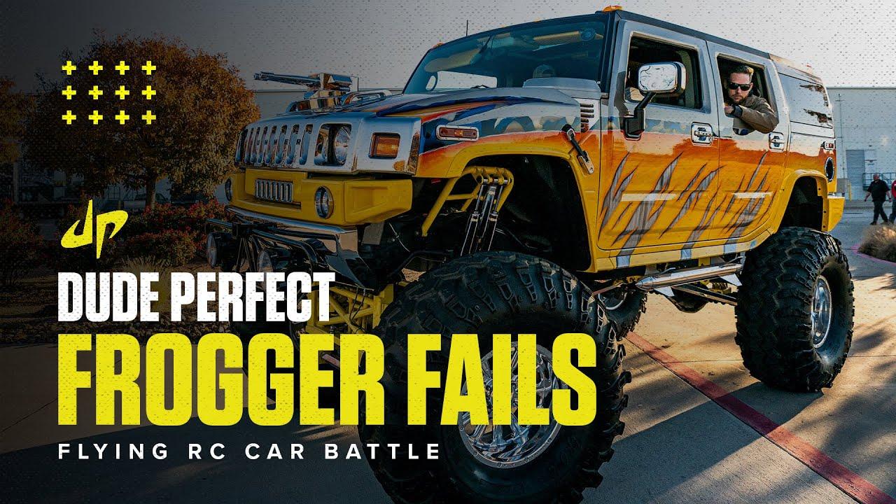 RC Frogger Fails