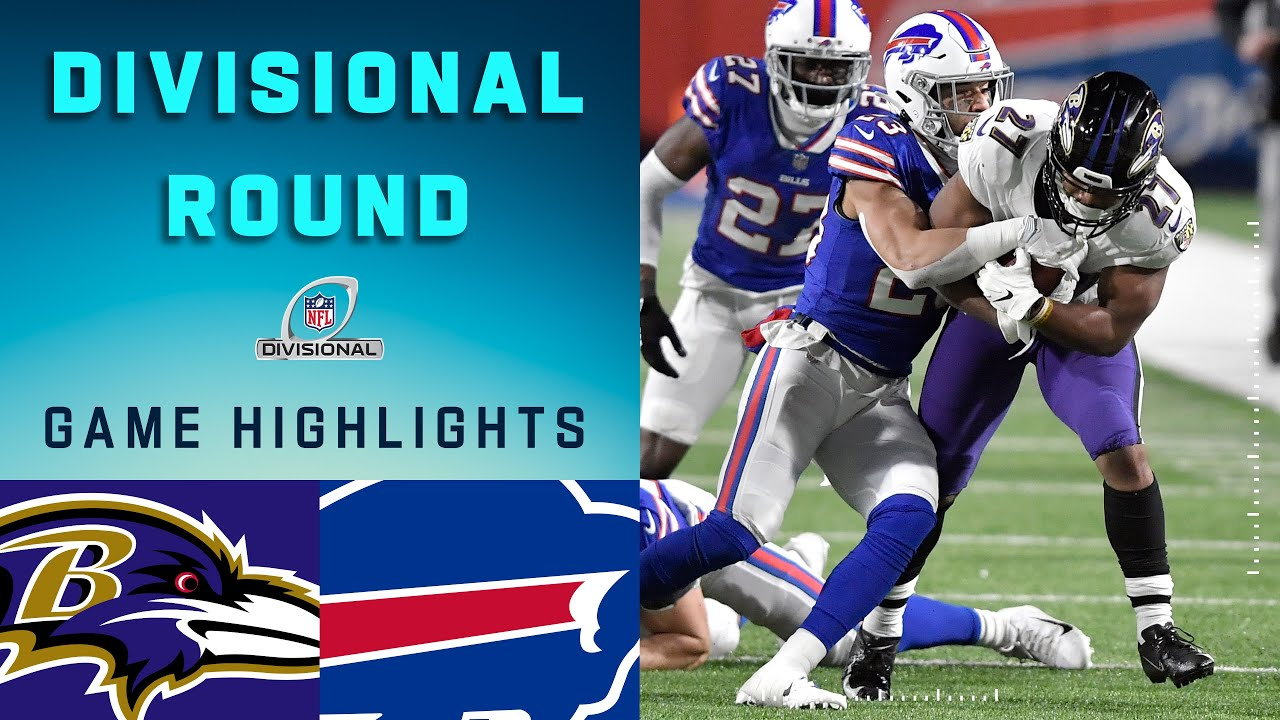 Ravens vs. Bills Divisional Round Highlights | NFL 2020 Playoffs