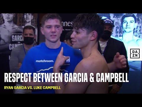 Ryan Garcia & Luke Campbell Share Special Moment In Locker Room Post-Fight