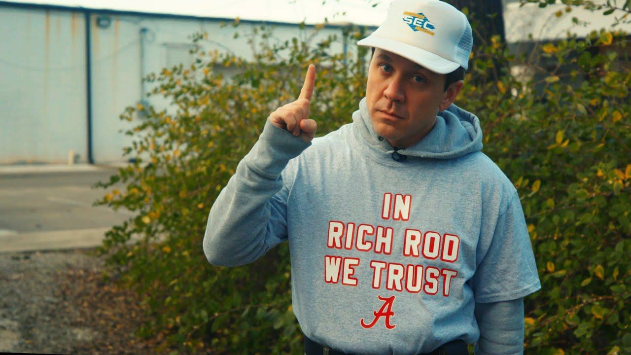 SEC Shorts – Alabama fan still wishes they had hired Rich Rodriguez