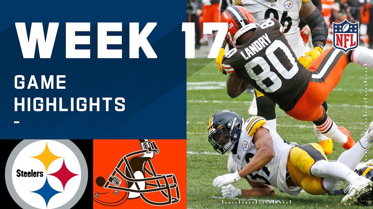 Steelers vs. Browns Week 17 Highlights | NFL 2020