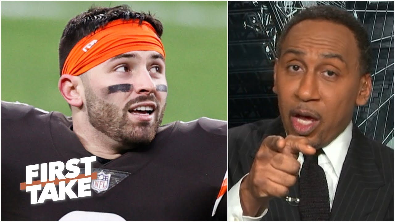 Stephen A.'s message to Baker Mayfield following the Browns clinching a playoff berth | First Take