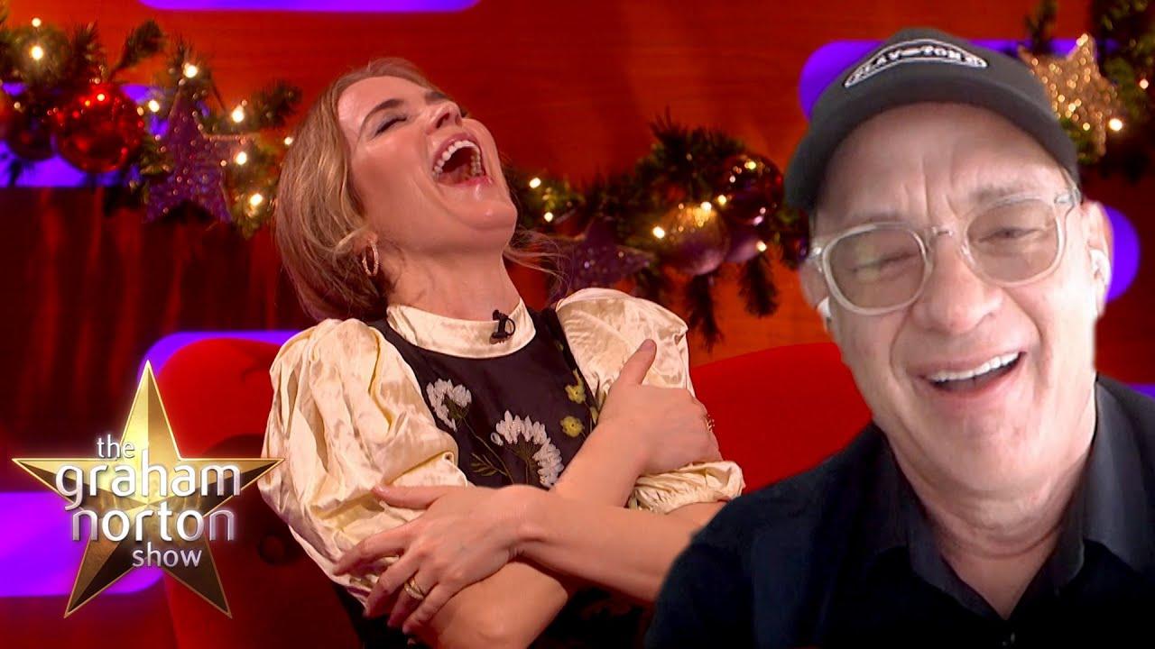 Tom Hanks's Joke Leaves Emily Blunt In Stitches | The Graham Norton Show