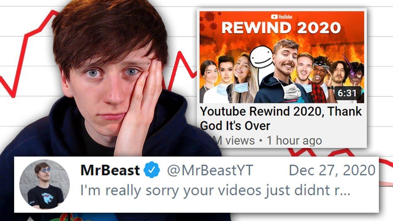 Why I wasn't in MrBeast's Youtube Rewind 2020