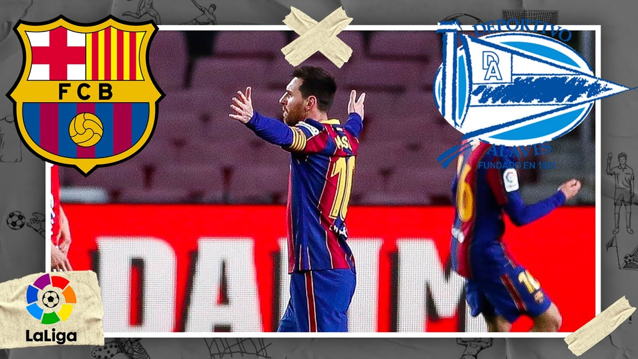 Barcelona vs Alavés | LALIGA HIGHLIGHTS | 2/13/2021 | beIN SPORTS USA
