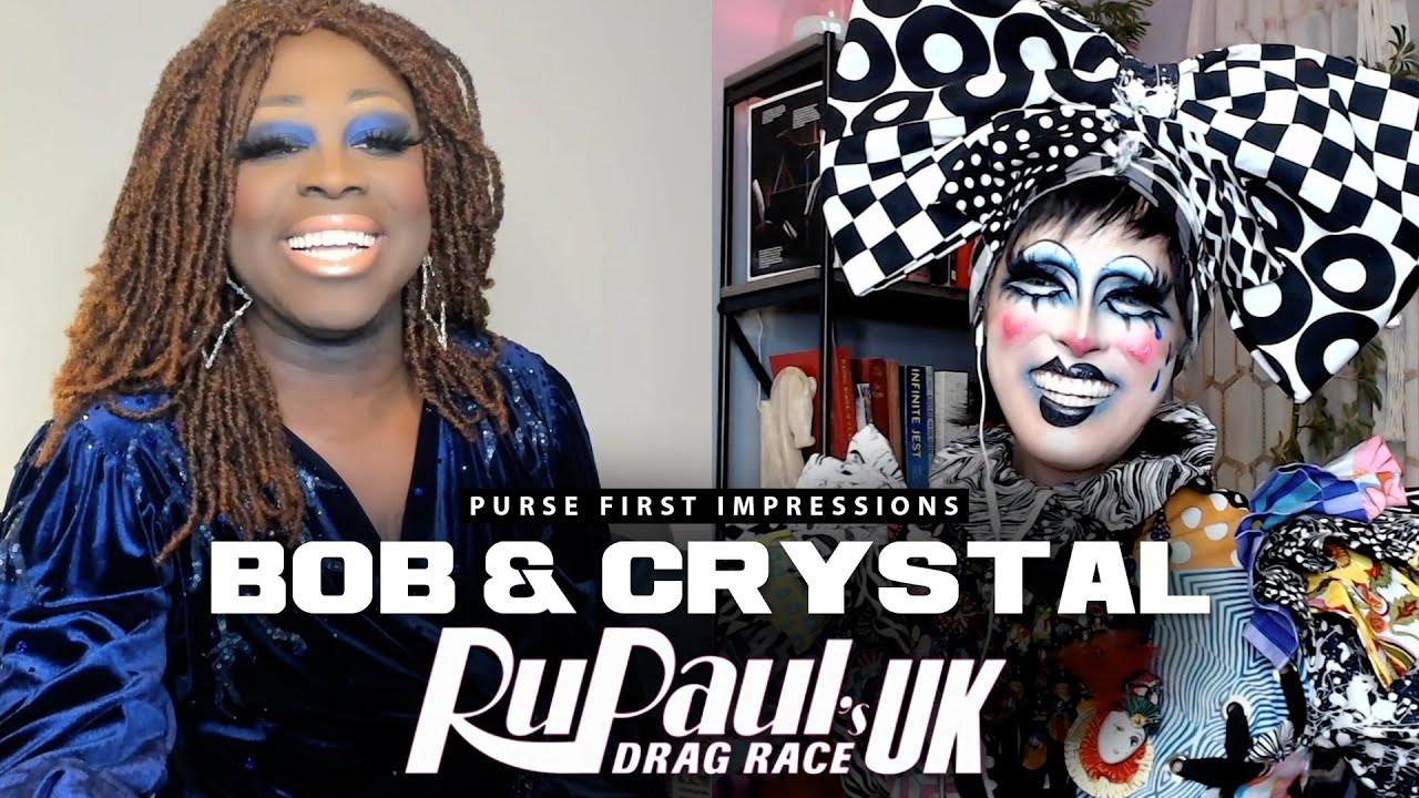 Bob The Drag Queen & Crystal Methyd   Purse First Impressions   RPDRUK S2E3