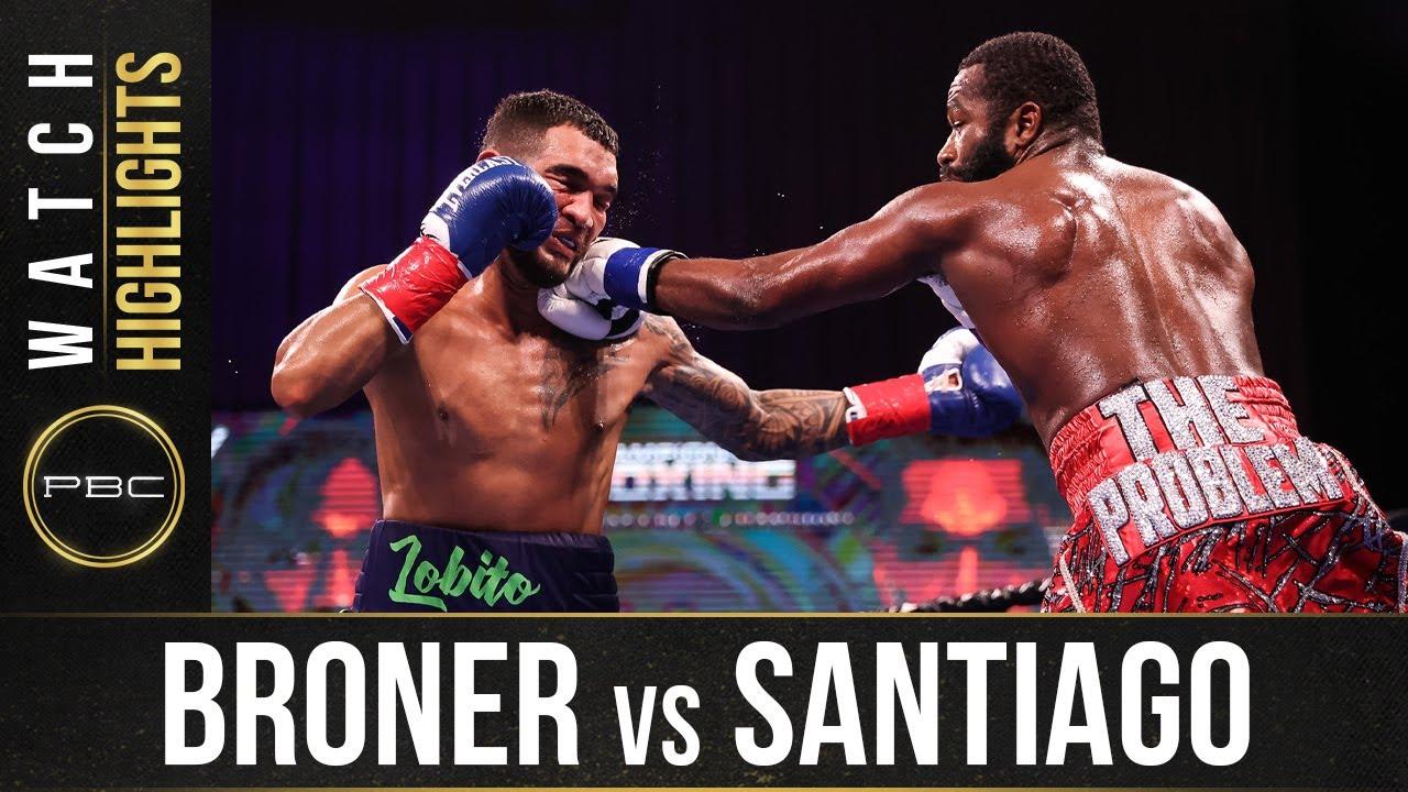 Broner vs Santiago HIGHLIGHTS: February 20, 2021   PBC on SHOWTIME