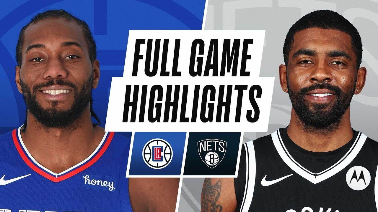 CLIPPERS at NETS   FULL GAME HIGHLIGHTS   February 2, 2021