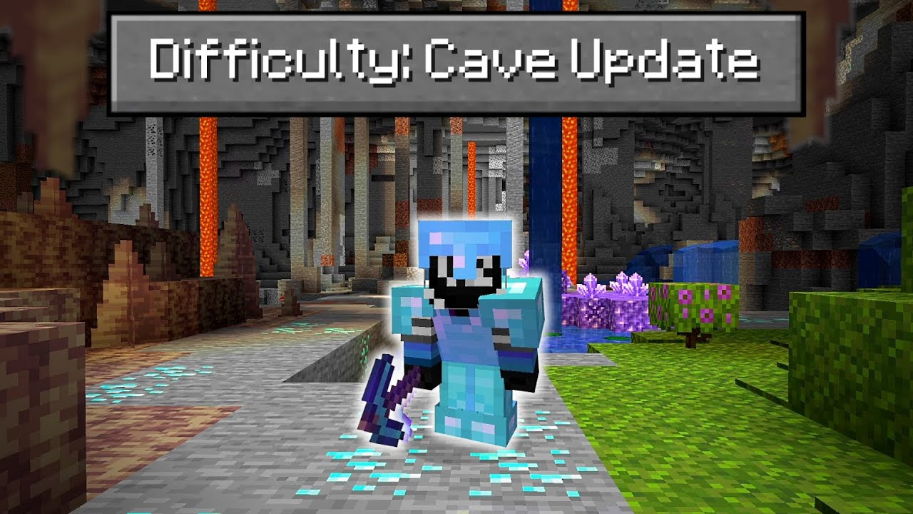 Can You Beat Minecraft on the NEW 1.17 Cave Update?