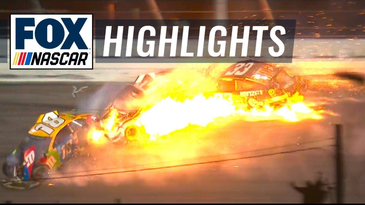 FINAL LAPS: McDowell avoids massive wreck to win the 2021 Daytona 500 | NASCAR ON FOX HIGHLIGHTS