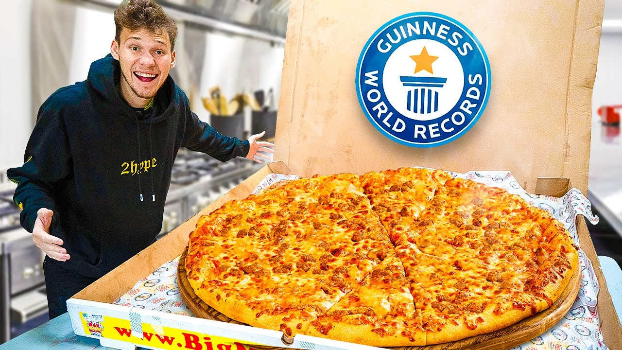 I Bought the World's Largest Pizza
