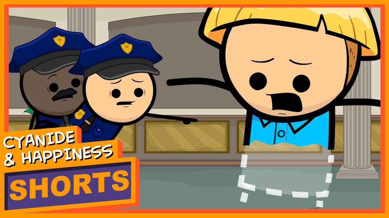 Invisibill – Cyanide & Happiness Shorts