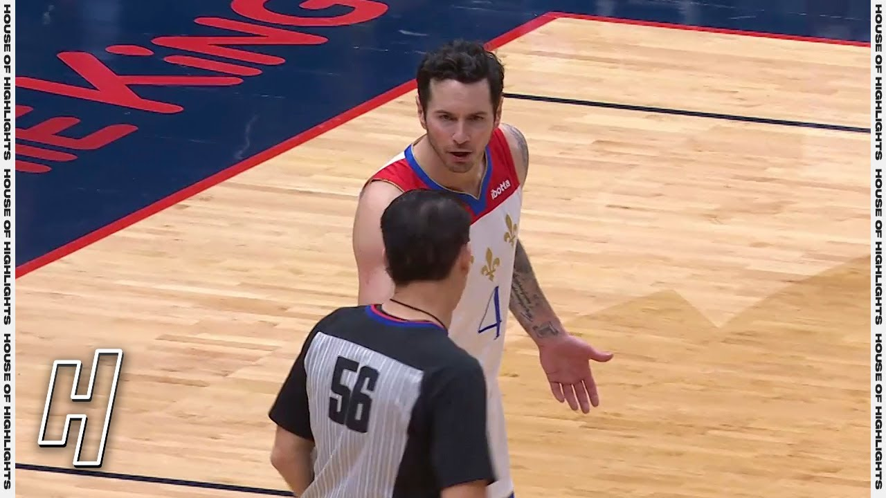 JJ Redick Ejected For Passing the Ball to Referee – Celtics vs Pelicans | February 21, 2021