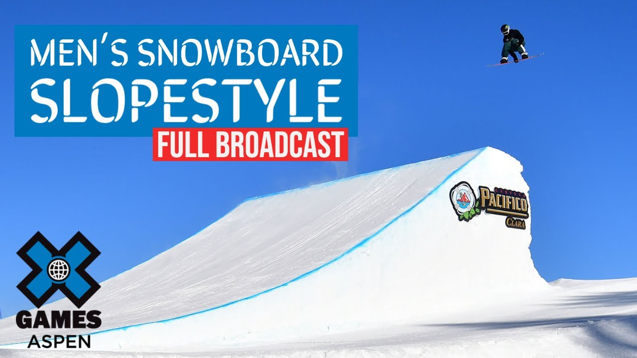 Jeep Men's Snowboard Slopestyle: FULL BROADCAST | X Games Aspen 2021