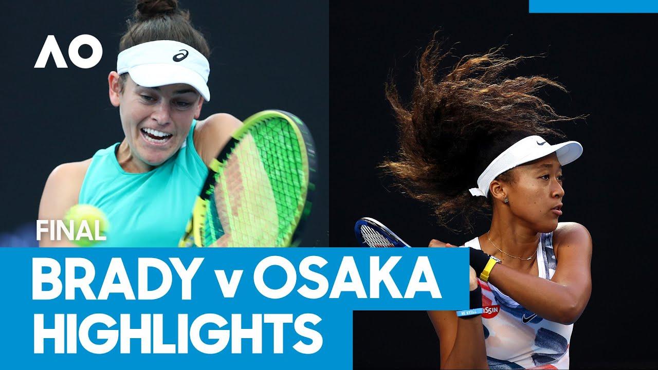 Jennifer Brady vs Naomi Osaka Championship Match Highlights (F) | Australian Open 2021
