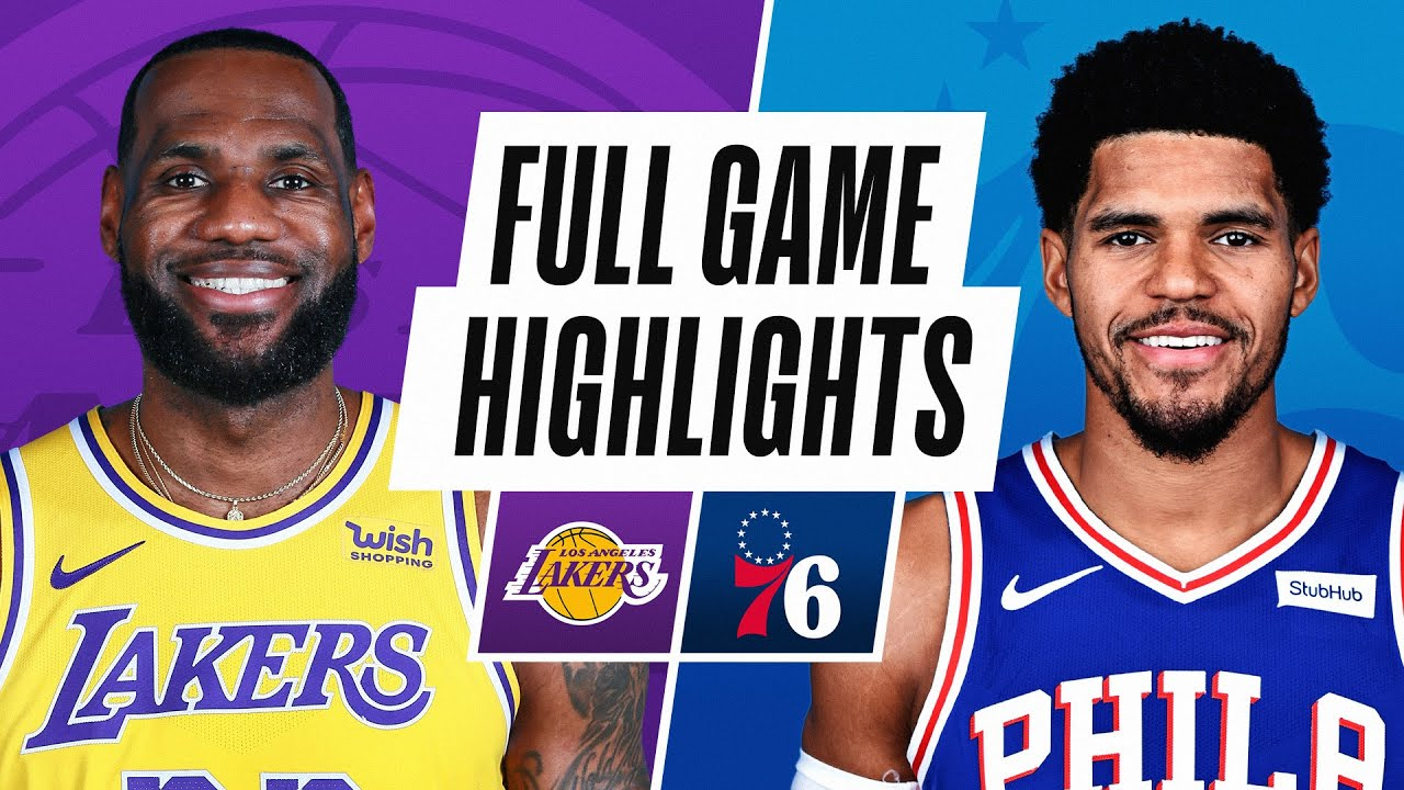 LAKERS at 76ERS | FULL GAME HIGHLIGHTS | January 27, 2021