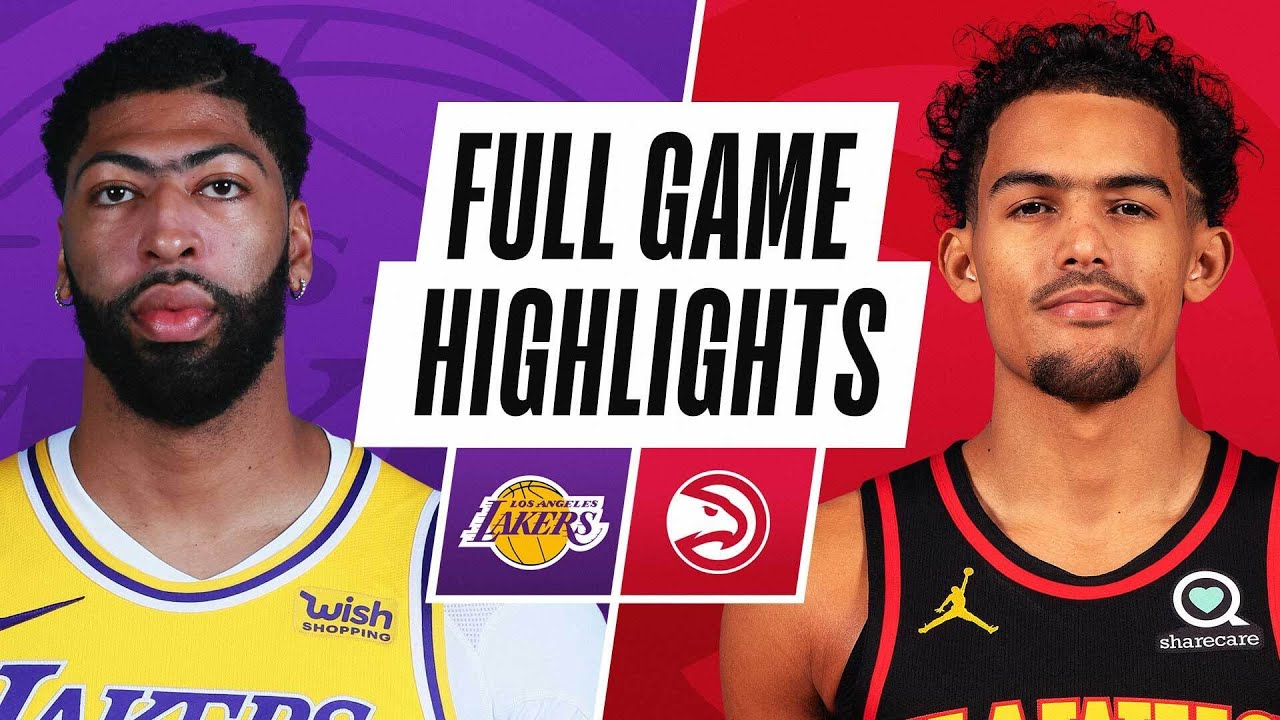 LAKERS at HAWKS | FULL GAME HIGHLIGHTS | February 1, 2021