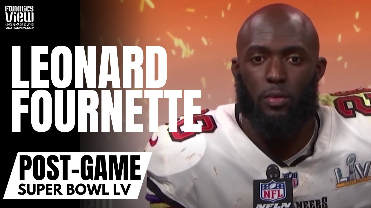 "Leonard Fournette on Tom Brady Being the GOAT: ""I Can Tell My Kids I Played With Him"" 