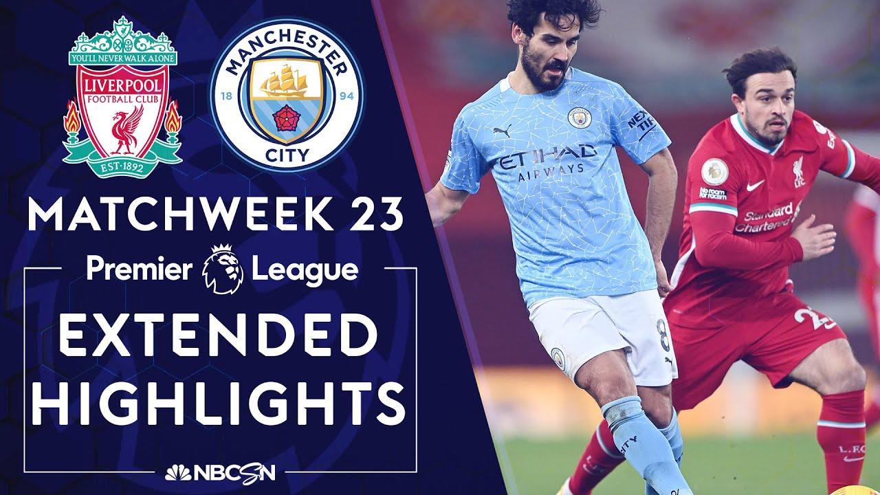 Liverpool v. Manchester City | PREMIER LEAGUE HIGHLIGHTS | 2/7/2021 | NBC Sports