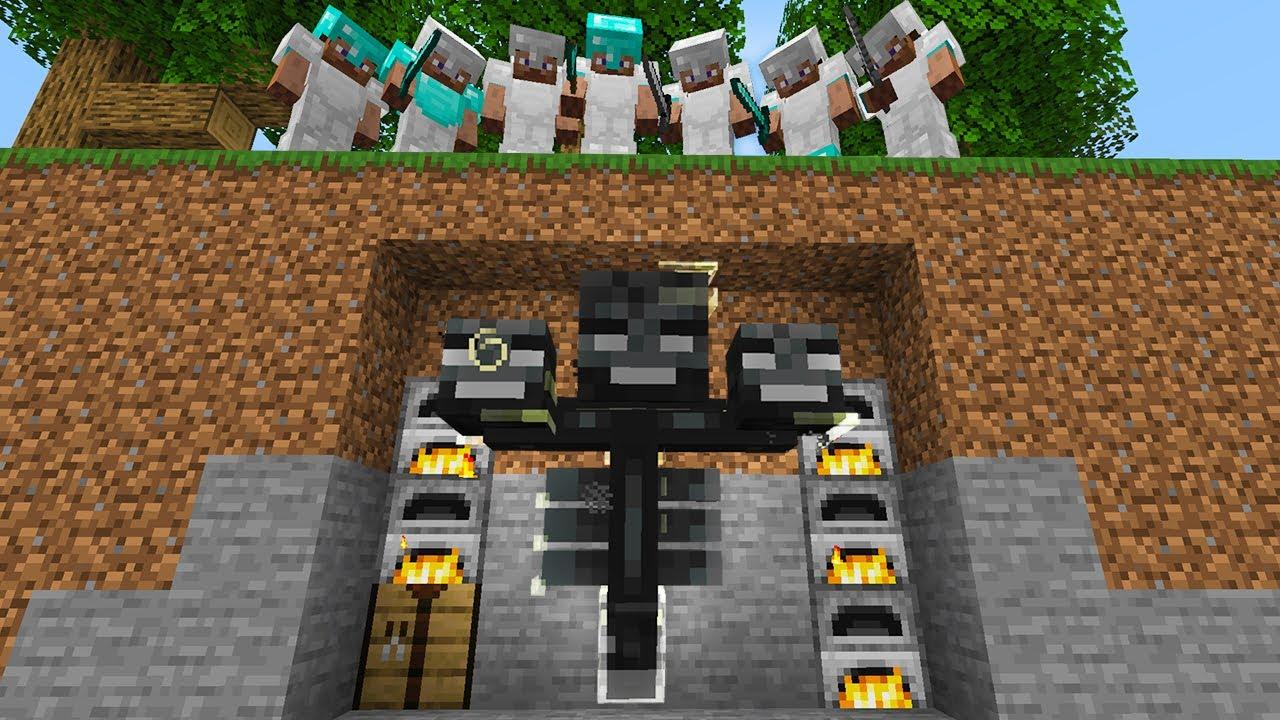 Minecraft Manhunt but I can SHAPESHIFT…