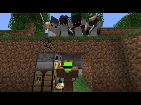 Minecraft Speedrunner VS 4 Hunters GRAND FINALE