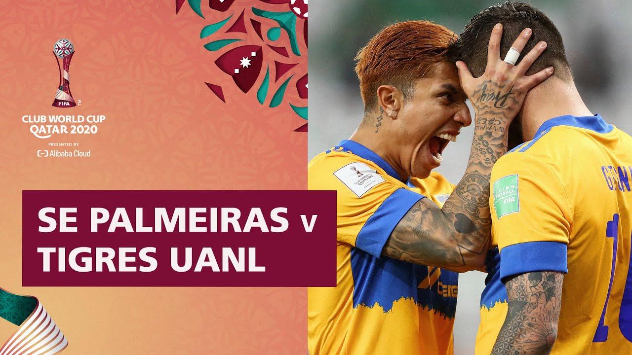 Palmeiras v Tigres UANL | FIFA Club World Cup Qatar 2020 | Match Highlights