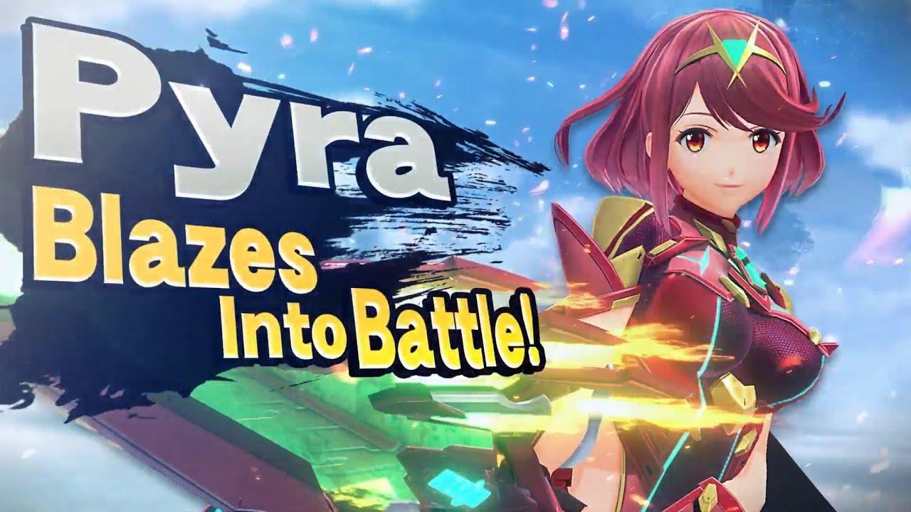 Pyra / Mythra in Smash!!! Nice!!!