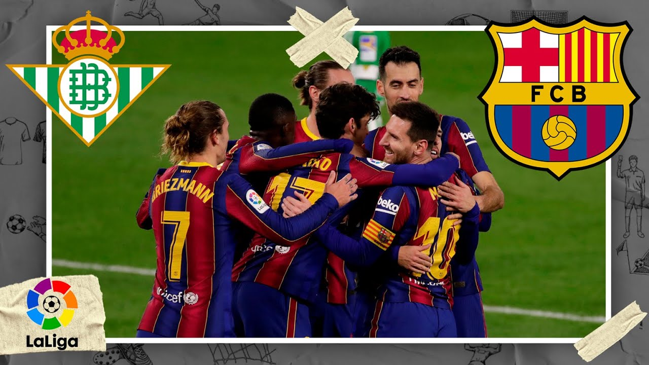 Real Betis vs Barcelona | LALIGA HIGHLIGHTS | 2/7/2021 | beIN SPORTS USA