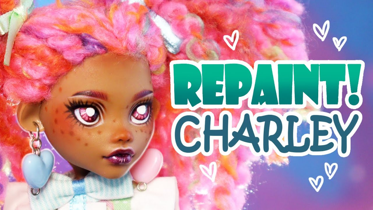 Repaint! Charley the Lolita Fashion Doll #OOAK Art Doll