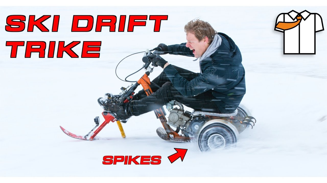 THE SKI TRIKE DRIFT MONSTER