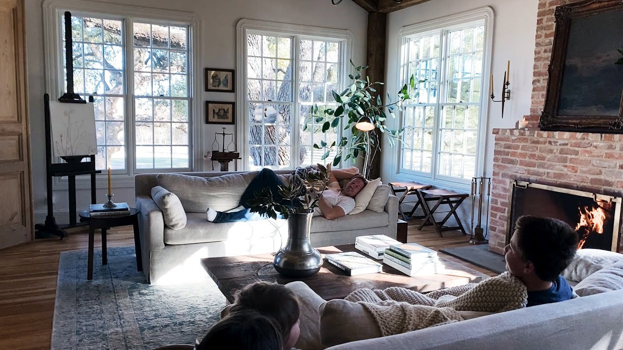 The Gaines' Living Room Renovation is Complete!   Fixer Upper: Welcome Home   Magnolia Network