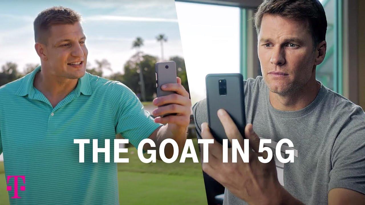 Tom Brady & Rob Gronkowski | Big Game Ad | #TheGOATin5G | T-Mobile