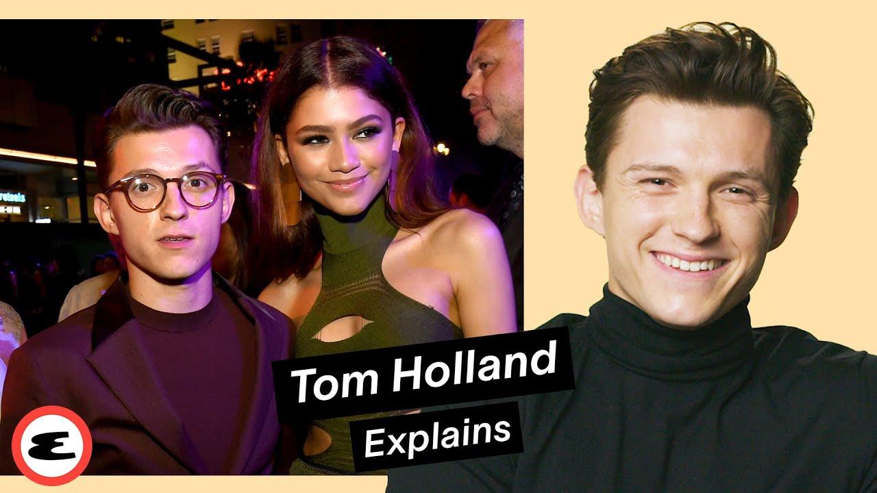 Tom Holland on Zendaya, Robert Pattinson & His Career | Explain This | Esquire